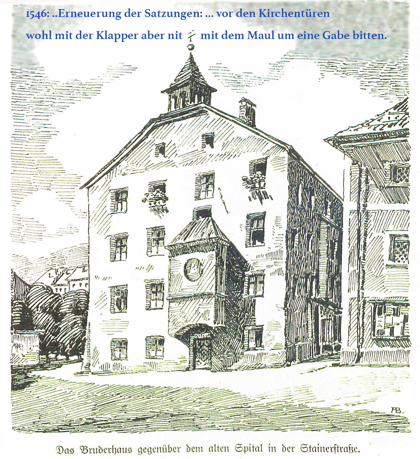 Bruderhaus Stainerstraße 1313
