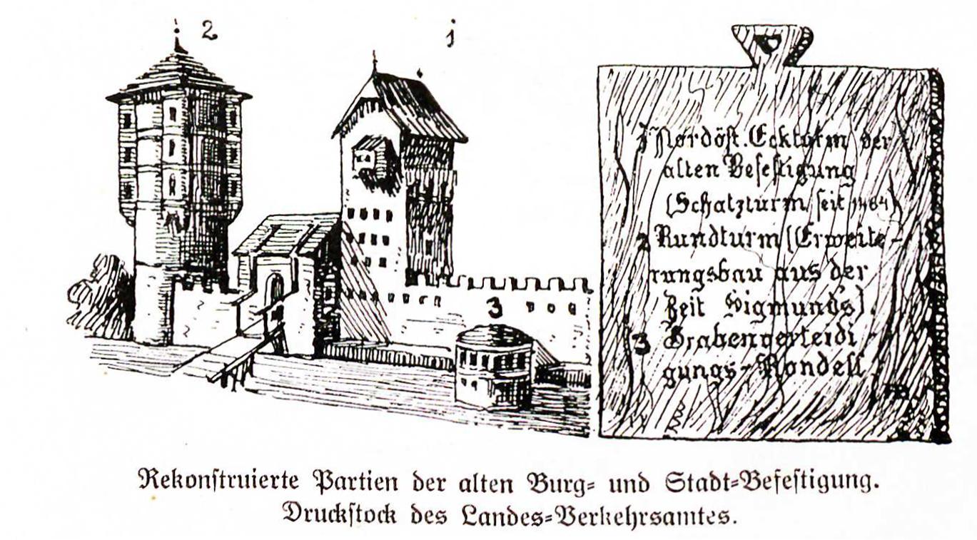 Teile Stadtbefestigung ca 1500