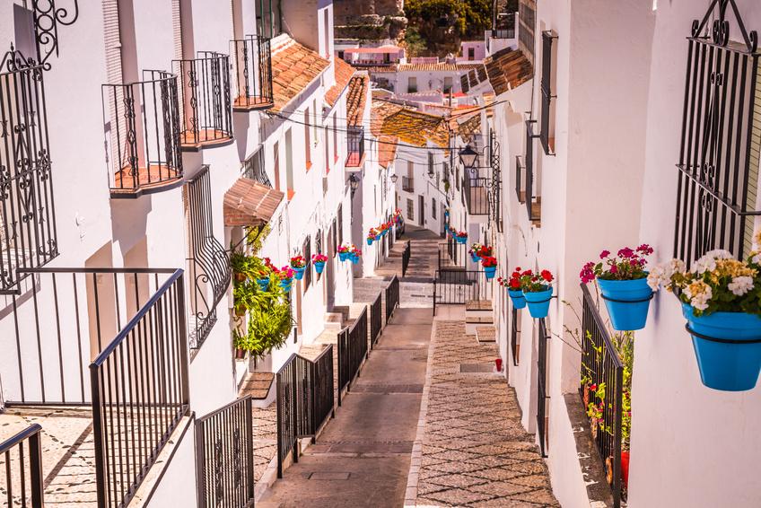 Weise Dörfer wie Mijas Costa del Sol