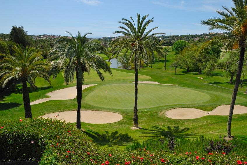 Golfplatz Costa del Sol