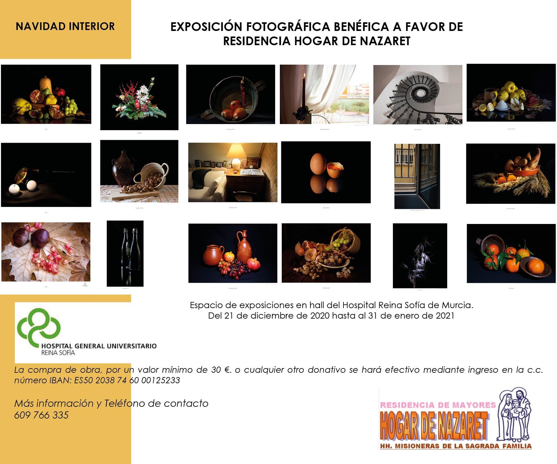 Exposición benéfica NAVIDAD INTERIOR