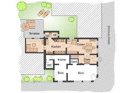 Grundriss : Haus Greve Wohnung 1