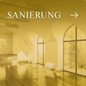 Sanierung - sanierter historischer Innenraum