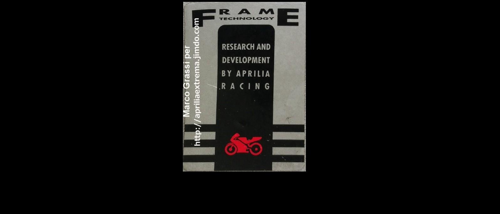 Sticker for frames 1993