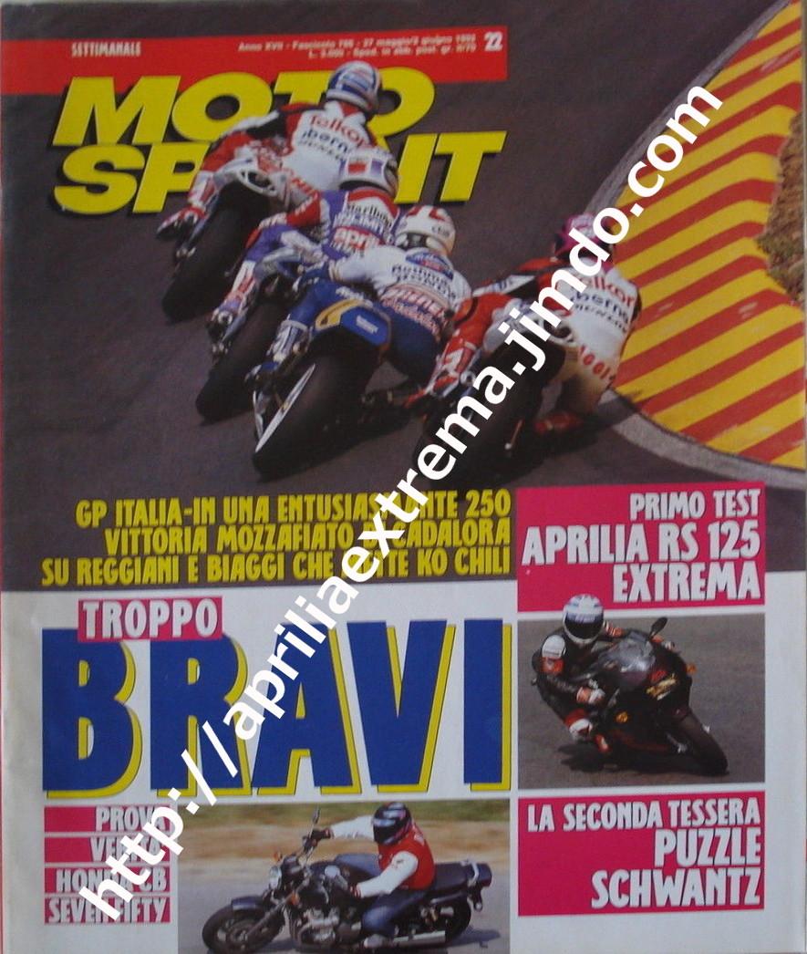 Motosprint 27 maggio-2 giugno 1992