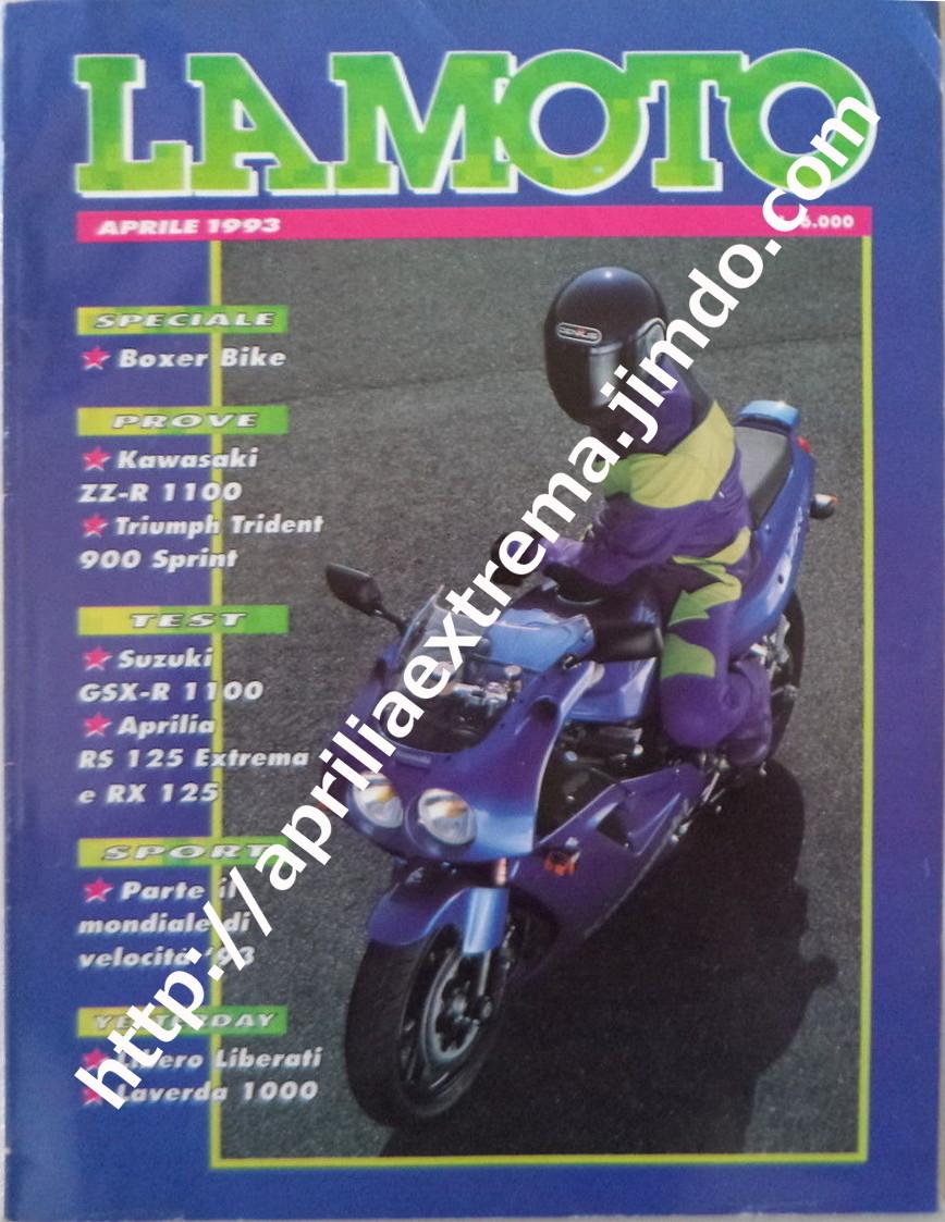 La Moto aprile 1993