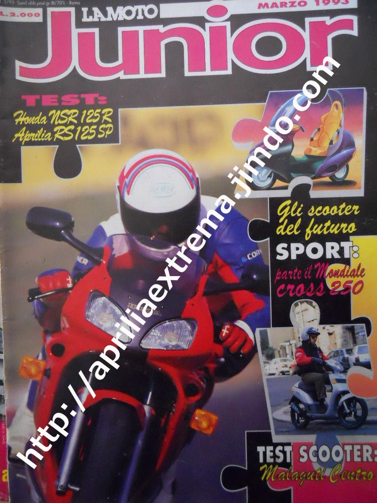 La Moto Junior marzo 1993