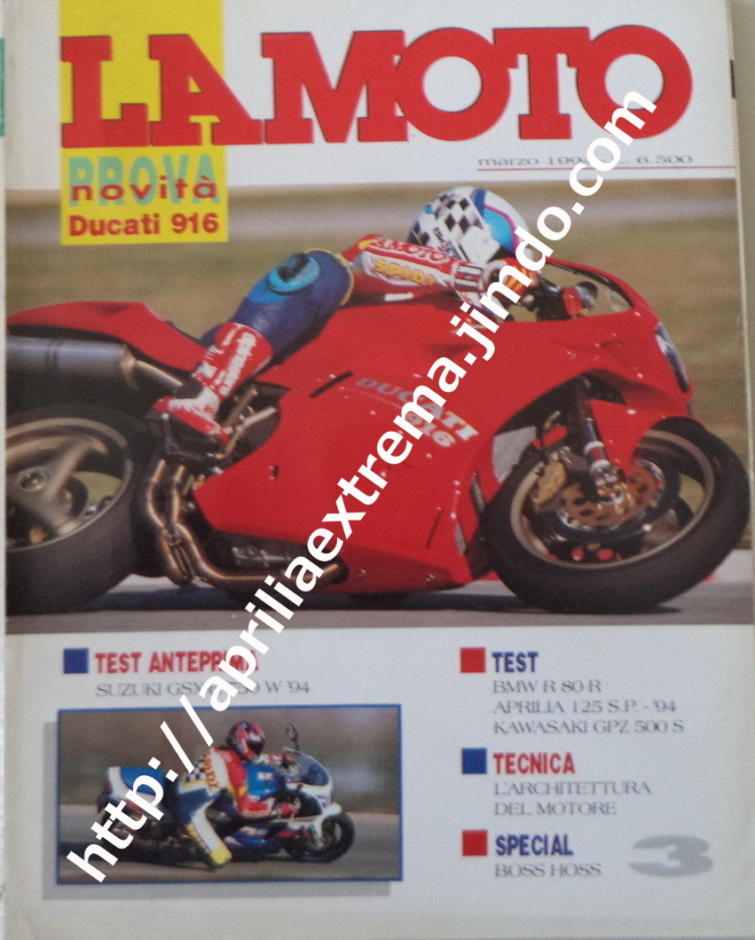 La Moto marzo 1994