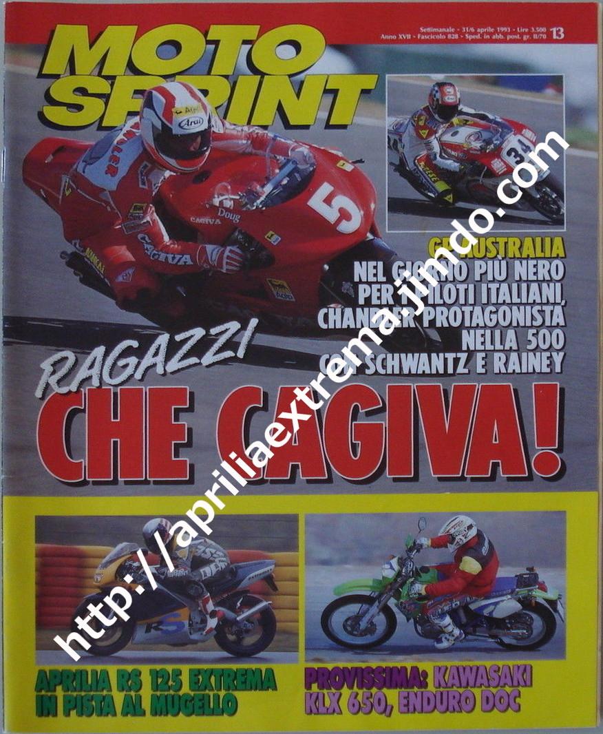Motosprint 31 marzo-6 aprile 1993
