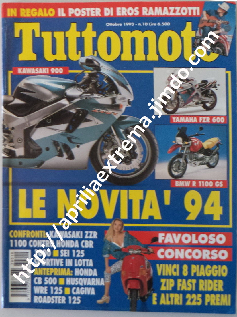 Tuttomoto ottobre 1993