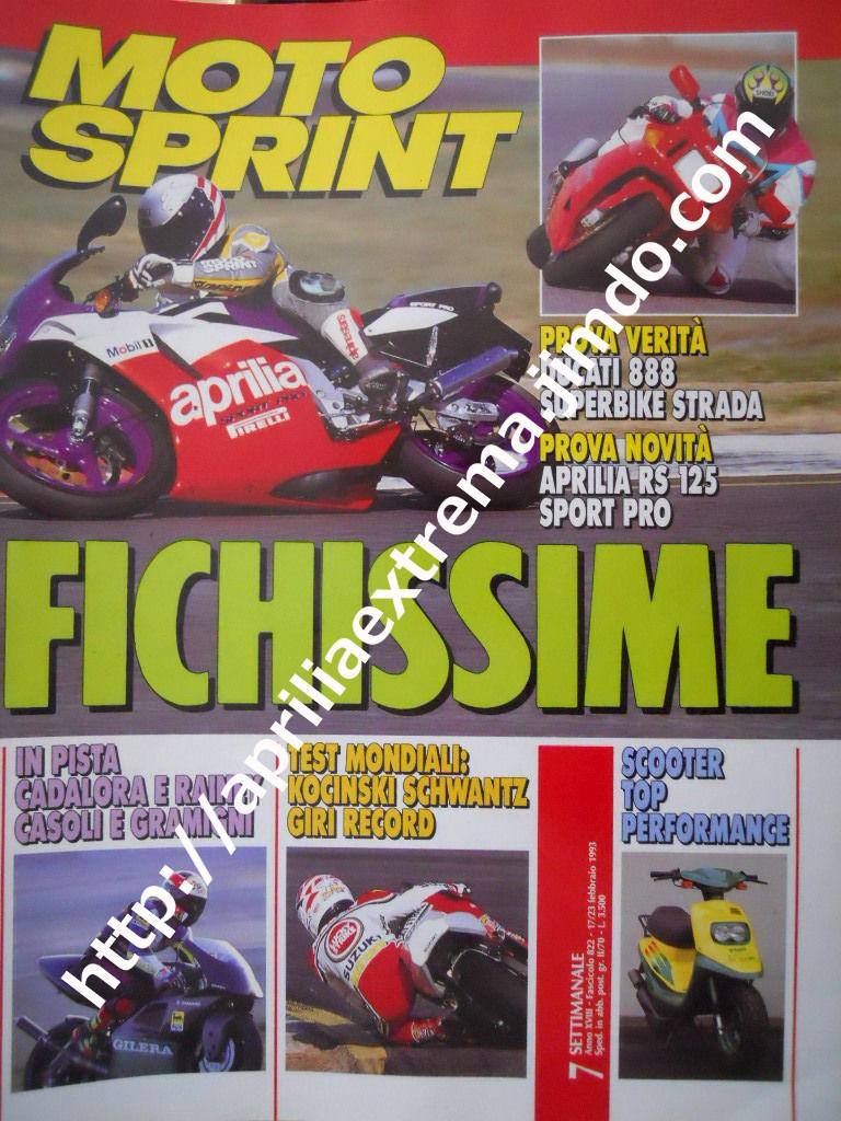 Motosprint 17-23 febbraio 1993