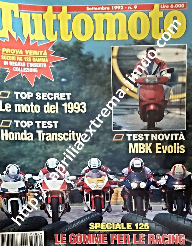 Tuttomoto settembre 1992