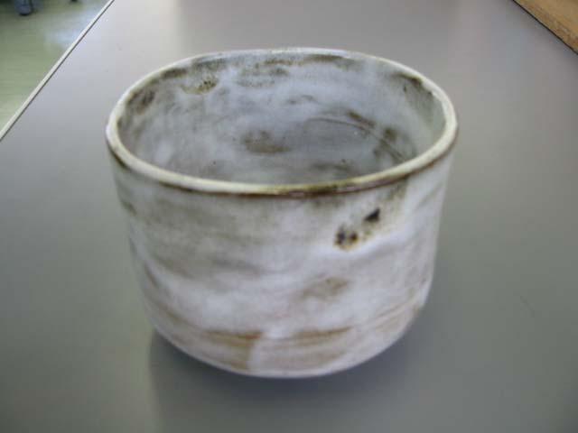 陶芸「白茶碗」