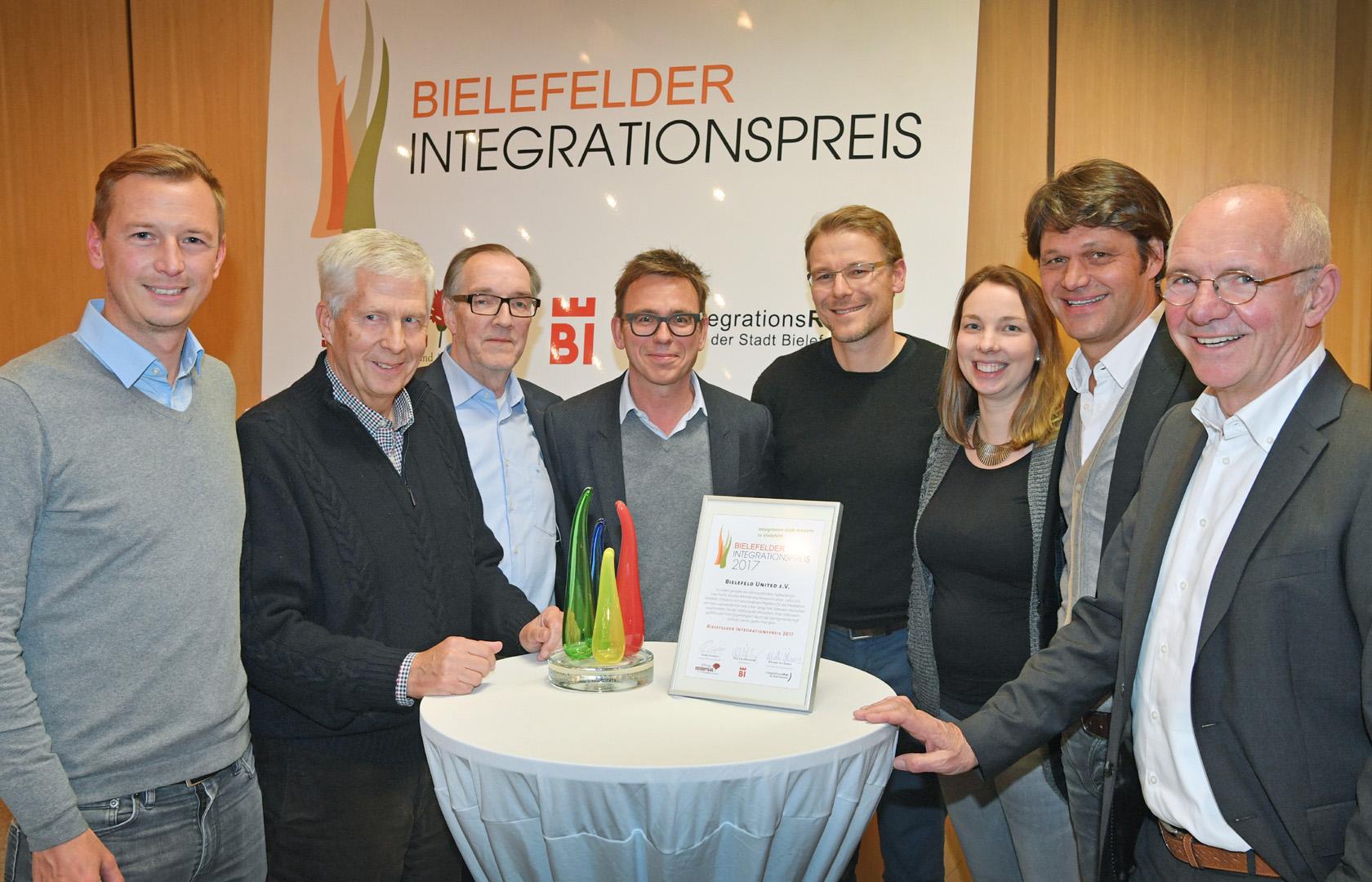 Integrationspreis für das Bündnis Bielefeld