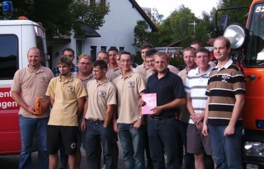 Im Rahmen eines Ausflugs besichtigten Mitglieder der ABC-Komponente des Landkreises Weißenburg-Gunzenhausen unter Leitung v. KBM Jürgen Zachmann den ABC-Zug München-Land.