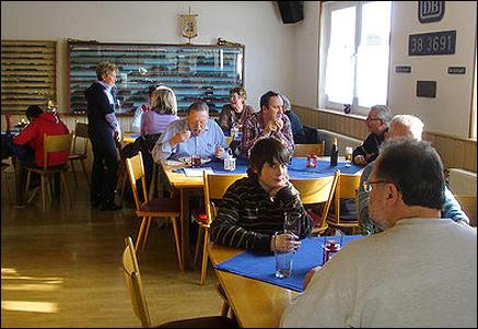 Unser Speisewagen