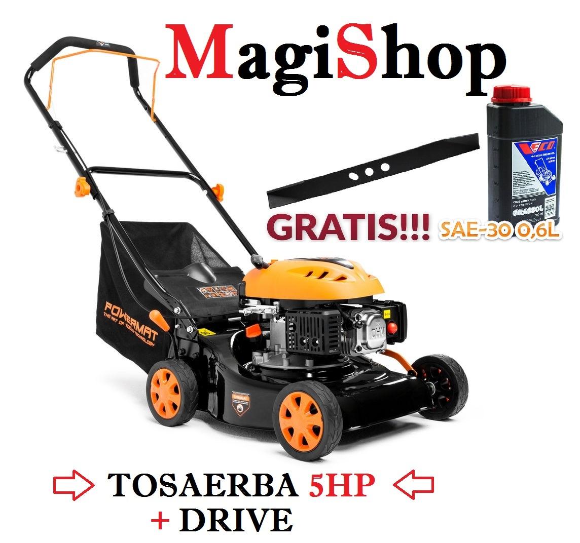 Tosaerba 5HP 139cc - 40cm + Drive - PM-KS-500N