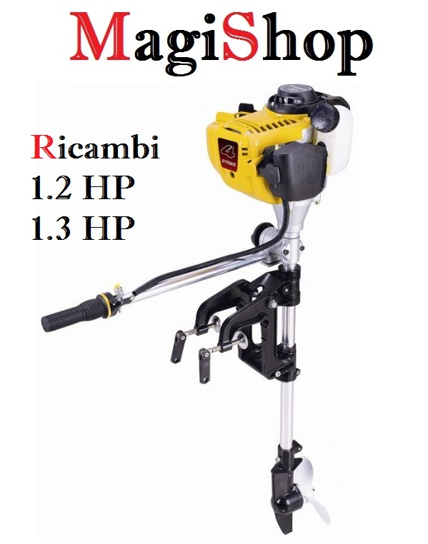 Ricambi fuoribordo 1.2 hp Aquaparx e 1.3 hp ozeam
