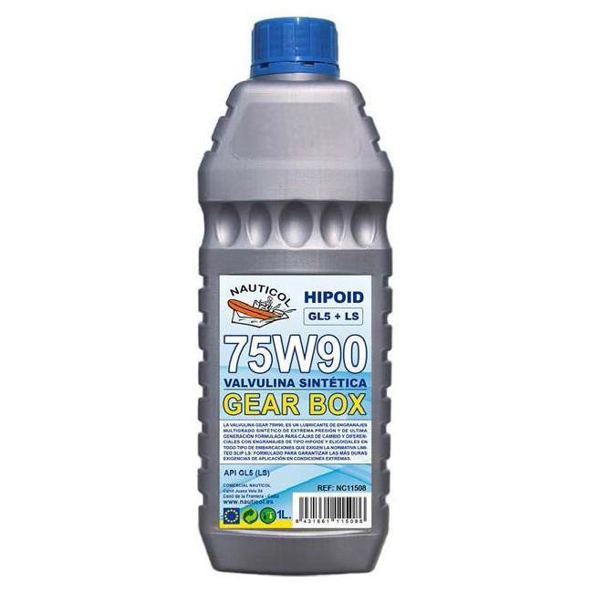 Olio sintetico Nauticol 75w90