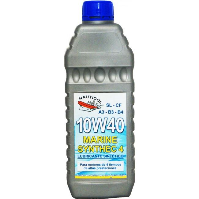 Olio sintetico Nauticol 10W40 FUORIBORDO 1.2HP  1.3HP