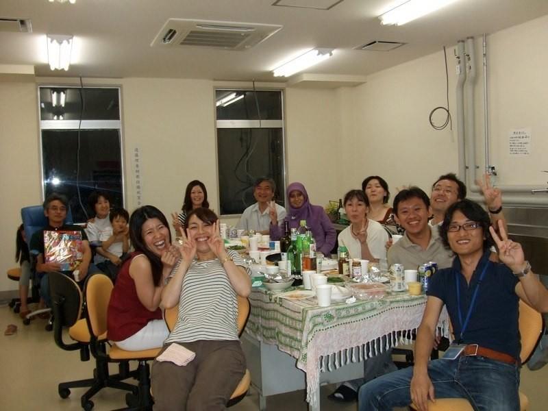 遠藤先生結婚記念パーティー
