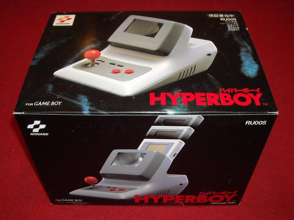 Caja de la Konami Hyperboy