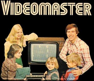 Cartel promocional de las consolas VideoMaster, años 70