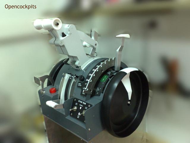 Abbildung 5 Opencockpits Throttle quadrant