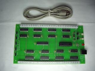Abbildung 5 Opencockpits USB- Outputscard