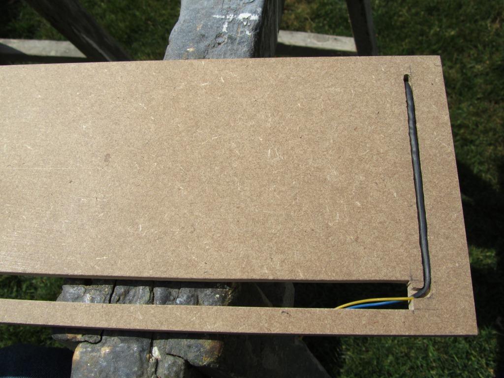 MCP-indirekte Beleuchtung, Kabel eingelegt