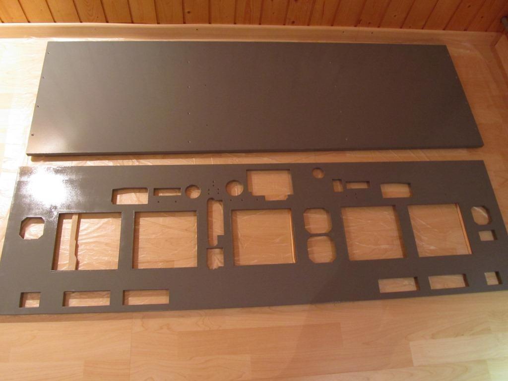 MIP Frontplatte und Zwischenplatte Bild1