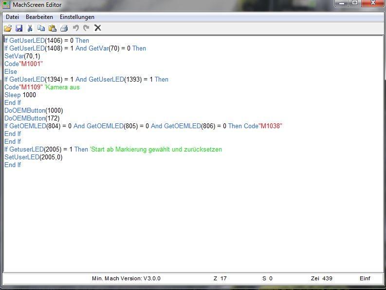 Script Programmierung