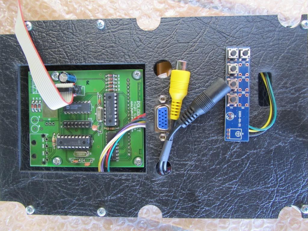 Eine besonderheit, der VGA-Stecker