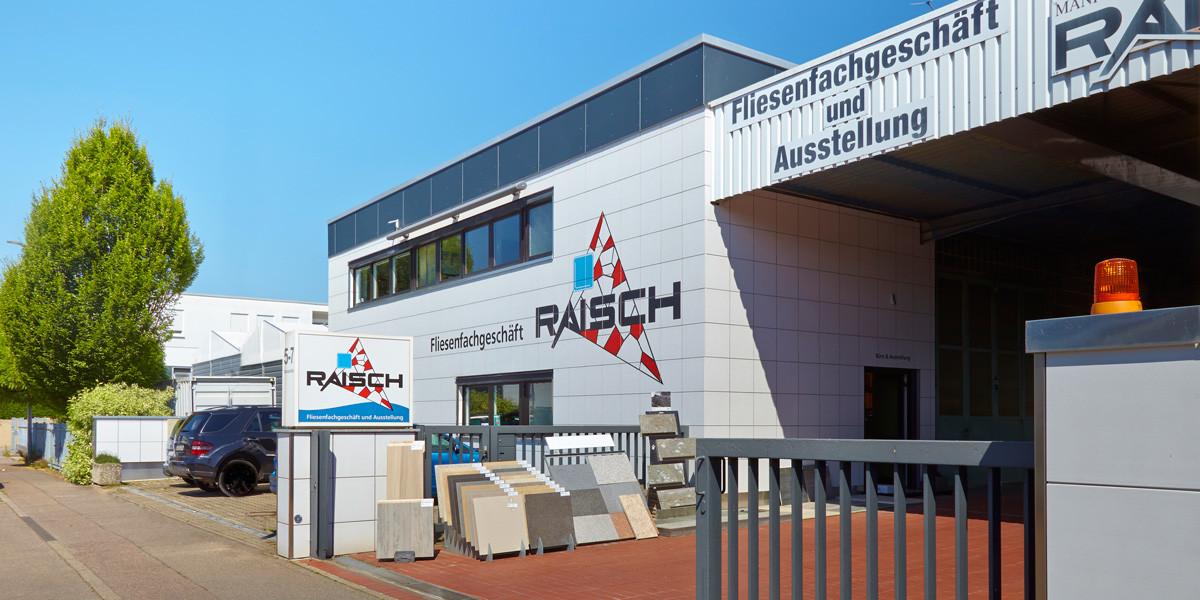 Matthias Raisch Fliesenfachgeschäft - Ostfildern - Eingang außen