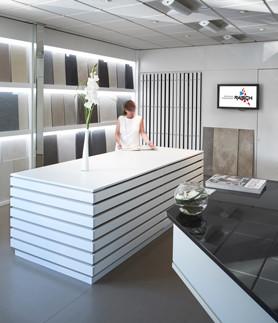 Matthias Raisch Fliesenfachgeschäft - eigene Ausstellung