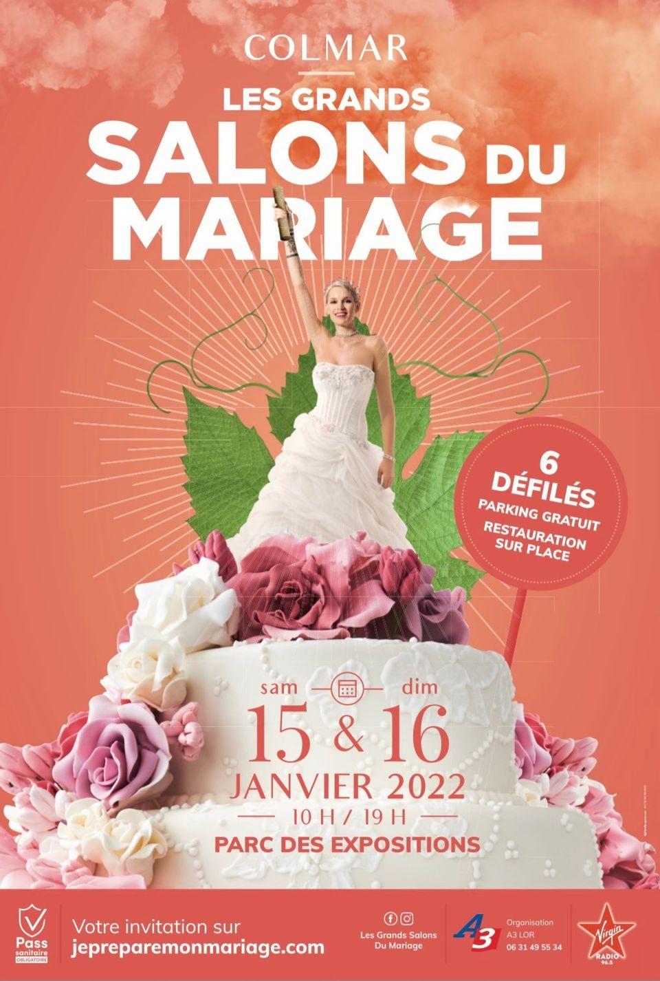 Le Salon du Mariage Colmar 15 et 16 Janvier 2022