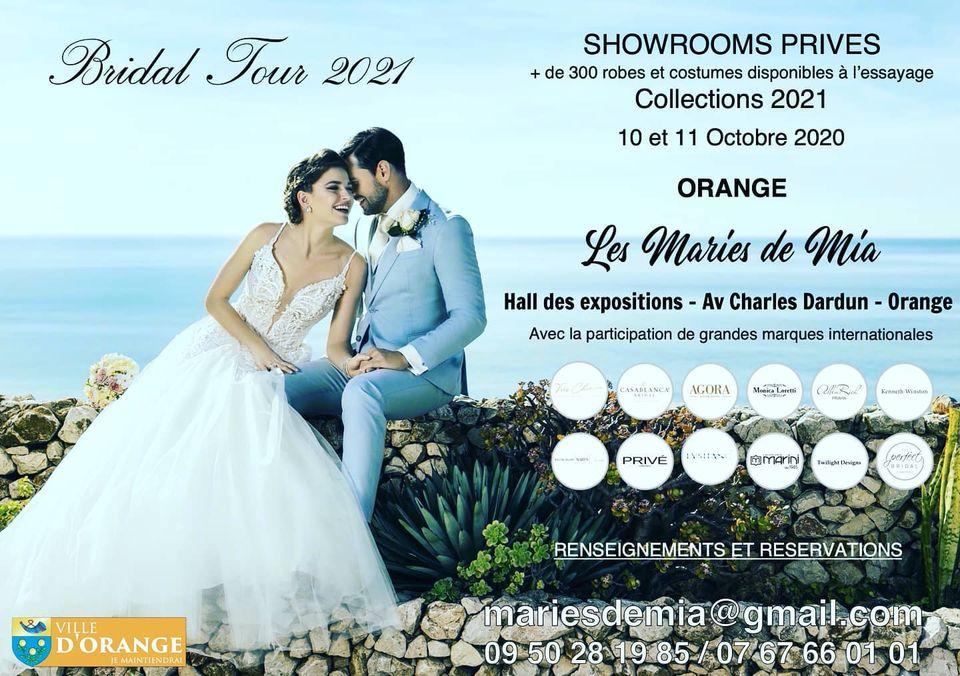 Bridal Tour 2021 à Orange - Les Mariés de Mia