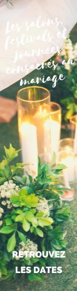 Les salons, festivals et journées consacrés au mariage