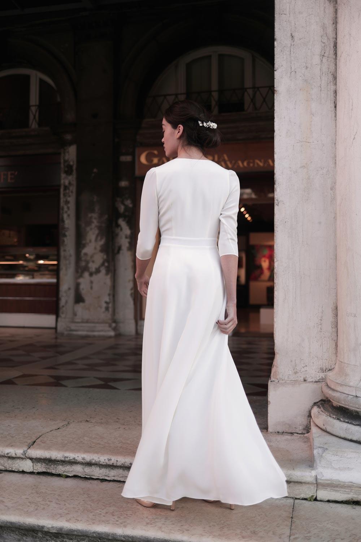 Maison Lemoine - Modèle : Robe Casilda Blanche - Crédit : Marion Colombani
