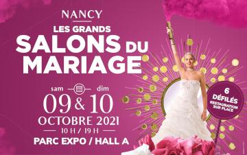 Salon du Mariage de Nancy - 09 et 10 Octobre 2021