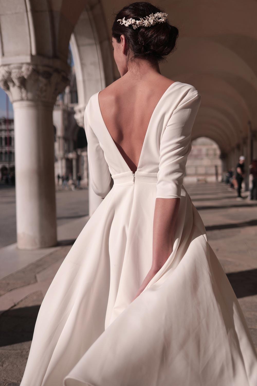 Maison Lemoine - Modèle : Robe Lauren Blanche - Crédit : Marion Colombani