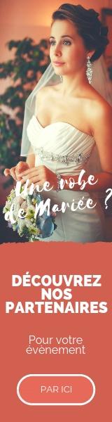 Partenaire Robes de Mariée pour le plus beau jour de votre vie