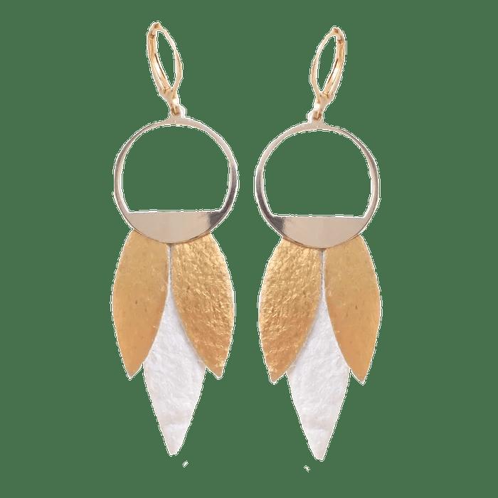 Boucles d'oreilles Louise Vegan - Prix : 32 €