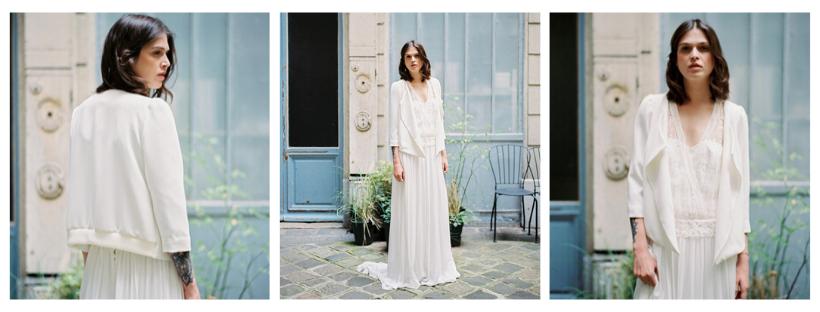 Stéphanie Wolff Paris – Collection 2017 - Modèle : Veste Delphine - Crédit Photo : L'Artisan photographe
