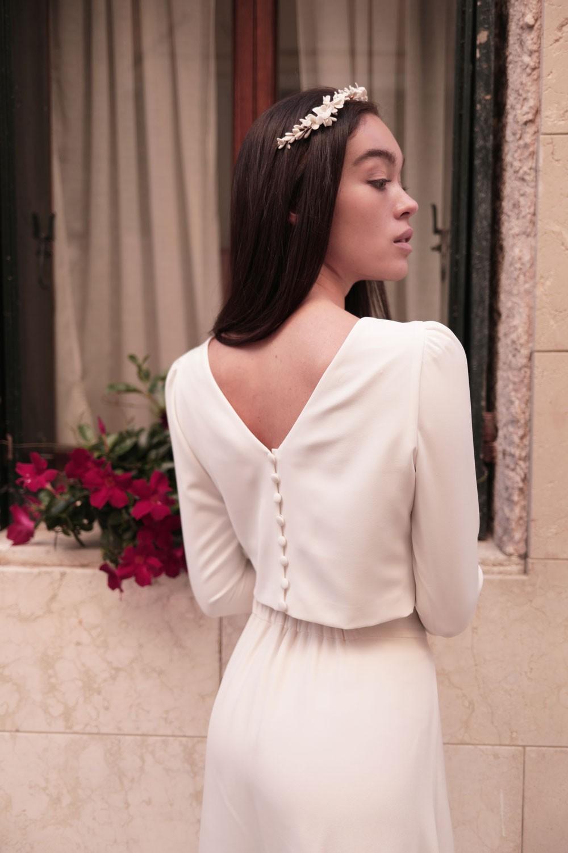 Maison Lemoine - Modèle : Haut Ines Blanc - Crédit : Marion Colombani