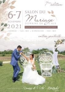 Salon du Mariage  à Capestang 6 et 7 Novembre 2021