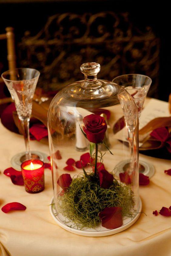 Une magnifique décoration de table !!! Source Pinterest