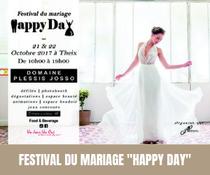 """Première édition du Festival du mariage """"Happy Day"""" à Theix au Domaine de Plessis Josso"""