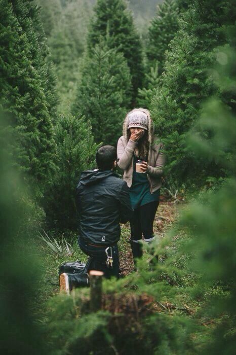 Demande de mariage en pleine nature!! Source Pinterest
