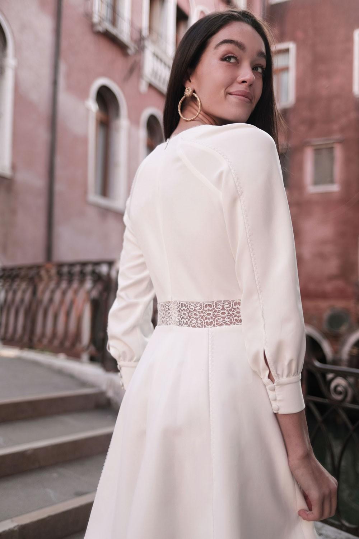 Maison Lemoine - Modèle : Robe April Blanche - Crédit : Marion Colombani